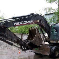 Hidromek 200W-3 (колесный дизельный экскаватор)