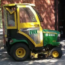 John Deere X700 (трактор дизельный)
