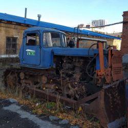 ДТ-75М «Казахстан» (гусеничный дизельный трактор)